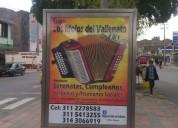 Grupo vallenato boyaca  3112278583