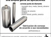 Perforaciones en concreto - extraccion y ensayo