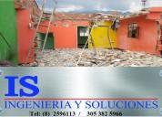 Demoliciones y modificaciones