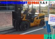 Servicio de montacargas eléctricas y combustión en