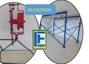 Somos  fabricantes de cercha y paral metalico larg