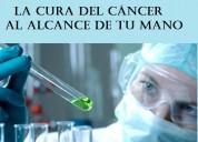 Gratis: la cura del cancer al alcance de tu mano.