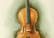 Clases particulares de violín y viola a domicilio