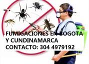 Fumigaciones bogotá, acaros y pulgas 3044979192