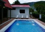Cc919  casa con piscina para 10 personas.