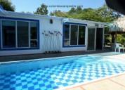 Cc923 cómoda casa con piscina privada acomodación