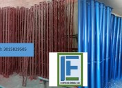 Somos fabricantes de paral metalico corto 1,50 mt