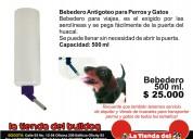 Bebedero para perros viajes en guacal