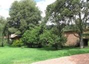 Finca el jardin ubicada en chia