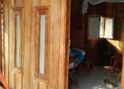 Linda casa tipo cabaña en madera.