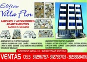 Amplios y acojedores apartamentos