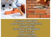 Diplomado especial en construcciÓn