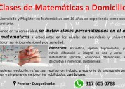Clases de matemáticas a domicilio pereira - dosque