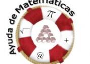 Solución de trabajos y exámenes matemática, fisica