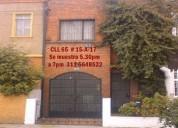 casa chapinero cupos, hostal, ofic $2800.000 direc