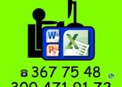 Tutorial de Office, Excel, Algoritmos, Java, C++, Visual Basic