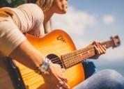 Clases de guitarra para niÑos o adultos