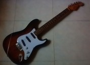 Vendo guitarra electrica modificacion fender estratocaster
