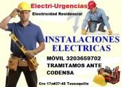 Electricista a domicilio,apagones,reformas,cortos.