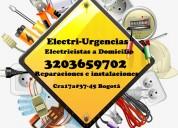 Electricista a domicilio,chapinero,teusaquillo,cen