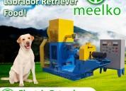 Extrusora  meelko alimentacion perros mked070