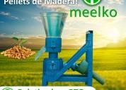 Maquina meelkopara pellets con maderamkfd150p