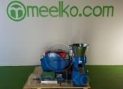 Maquina meelko para pellets con madera mkfd230a