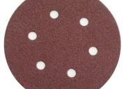 Discos velcro de 5 y 6 pulgadas en carborundum y f