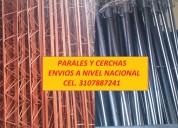 Paral metálico para construcción en venta
