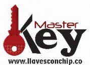 Master key llaves con chip