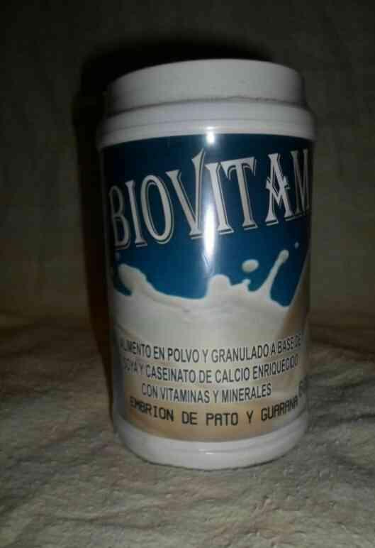 Llegó la vitamina BIOVITAM