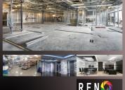 Renovacion general de todo tipo de espacios
