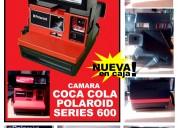 Camara de coca cola polaroid de coleccion nueva