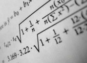 Clases particulares de cálculo