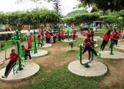 Fabricacion de gimnacios a el aire libre