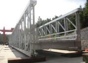 Construccion de puentes peatonales