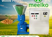 Maquina meelko para pellets con maderamkfd200c