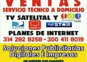 Servicio tecnico y planes de tv  de internet en to