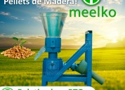 Maquina meelko para pellets con madera mkfd150c