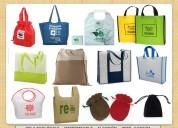 Empaques y bolsas en tela ecolÓgica-lona-algodÓn