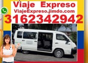 ► alquiler con conductor, van, microbus, buseta, v