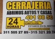 Cerrajeria modelia  domicilios 315-3212074