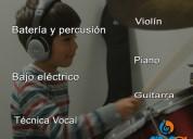 Clases de mÚsica- instrumentos, gramática.