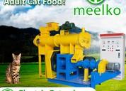 Extrusora para pellets alimentacion gatos mked080b