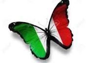 Clases particulares de italiano en manizales.
