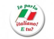 Clases de italiano - docente madrelengüa