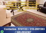 Los especialistas en lavado de alfombras