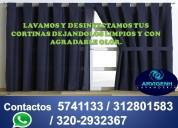 Limpiamos tus cortinas y persianas