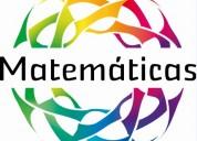 Refuerzos y tutorias personalizadas de matemÁticas