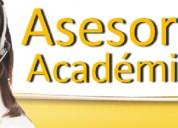 Resolución de exámenes y trabajos academicos.
